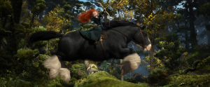 A frame From Pixar's Brave